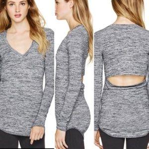 Aritzia Wilfred Free Luma Sweater Open Back